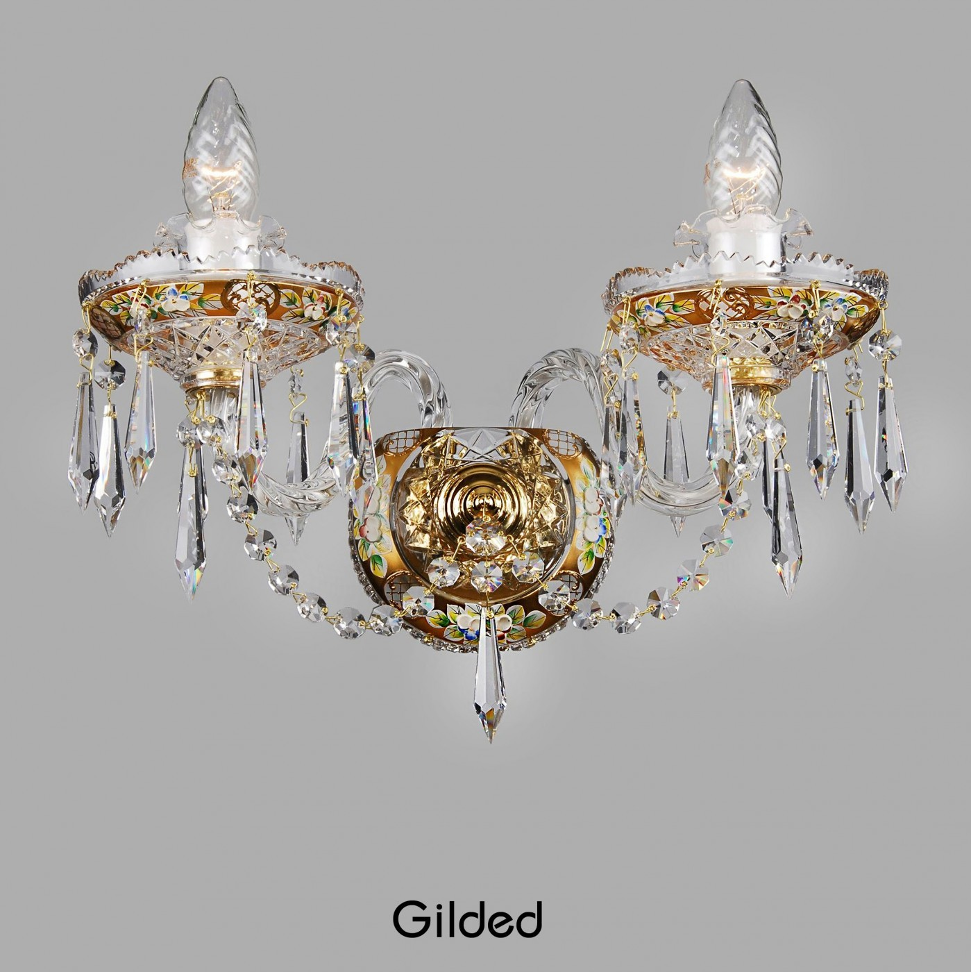 Crystal chandeliers merry crystal crystal chandelier gilded aloadofball Choice Image